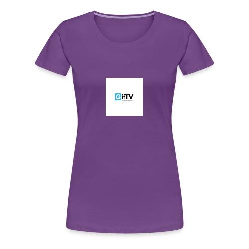 gifTV - Maglietta Premium da donna