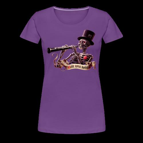 ¡Mueve el cuerpo! - Camiseta premium mujer