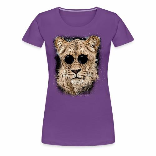 Mega coole Löwin - Frauen Premium T-Shirt