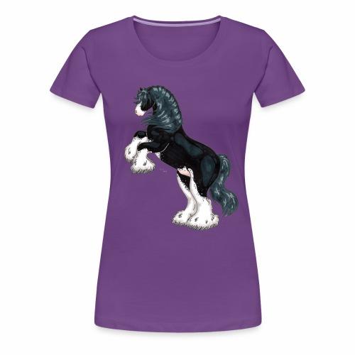 Steigender Tinker schwarz - Frauen Premium T-Shirt