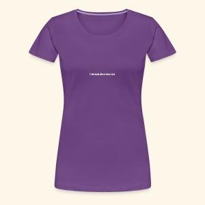 wanderness_white - Frauen Premium T-Shirt