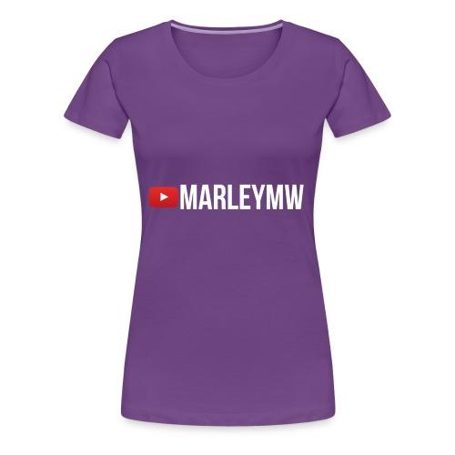 MarleyMW Name Merch - Women's Premium T-Shirt