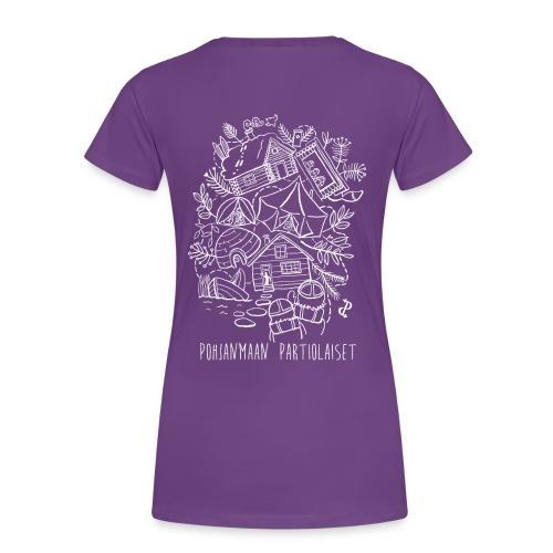 Aavoilta vaaroille - Naisten premium t-paita