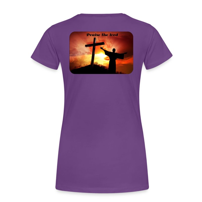 Praise the lord - Premium-T-shirt dam
