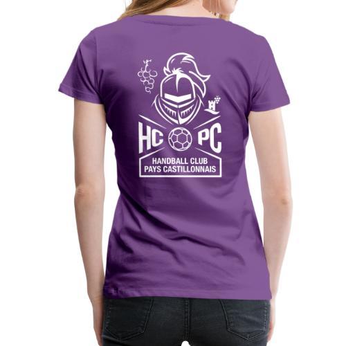 OFFICIEL HCPC - T-shirt Premium Femme