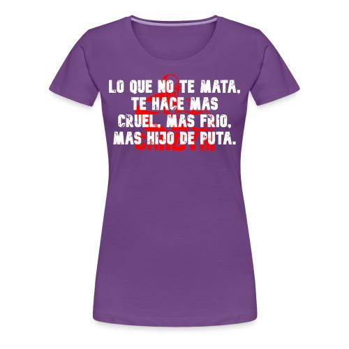 MAS HDP - Camiseta premium mujer