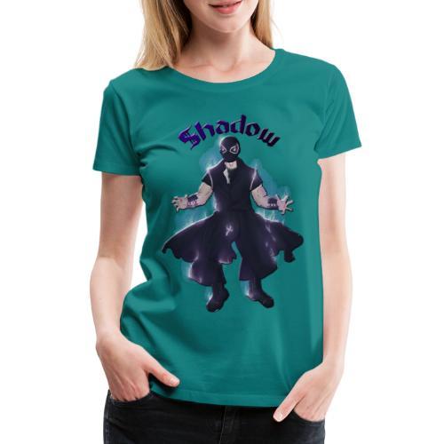 FLOW Wrestling's shadow by Helyria - T-shirt Premium Femme