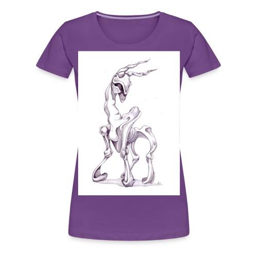 strange thing - Frauen Premium T-Shirt