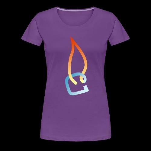 Eisheiss Bandlogo - Frauen Premium T-Shirt