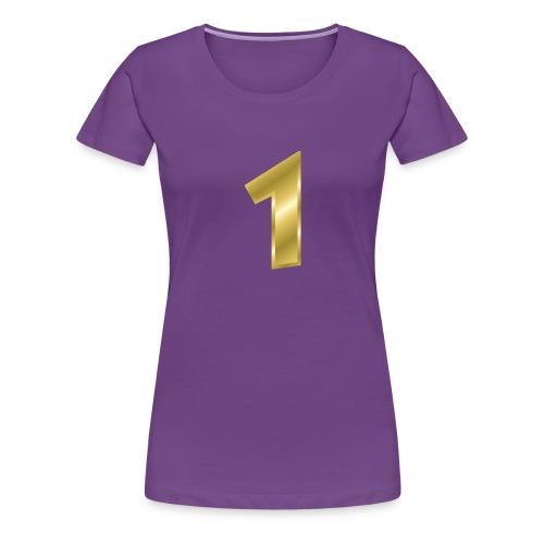 nummer 1 - Frauen Premium T-Shirt
