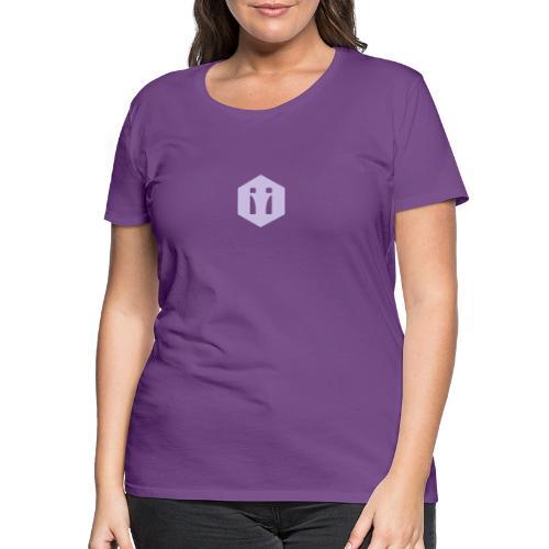 Logo Spiegelbild transparent - Frauen Premium T-Shirt