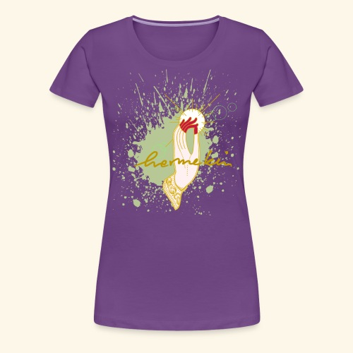 hermekins Gyan Mudra - Frauen Premium T-Shirt