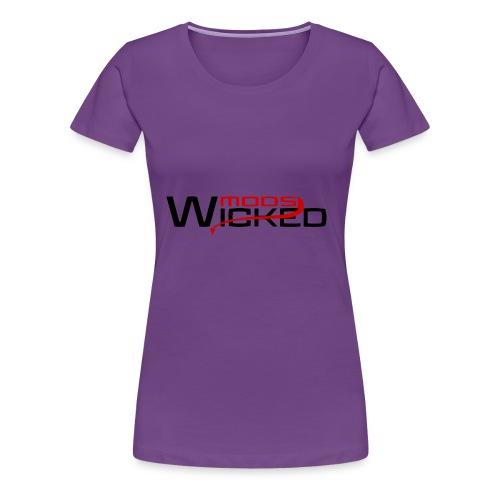 Wicked Mods - Frauen Premium T-Shirt