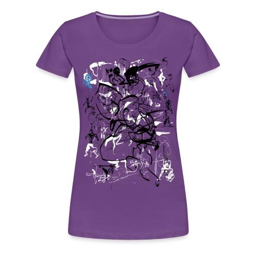 art of shaolin - Women's Premium T-Shirt