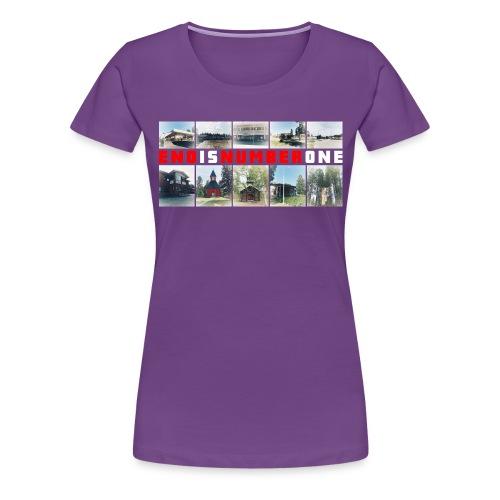 Monipaikka hiEnous-Eno - Naisten premium t-paita