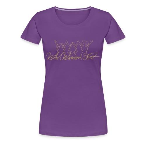 Wild Woman Fest - Vrouwen Premium T-shirt
