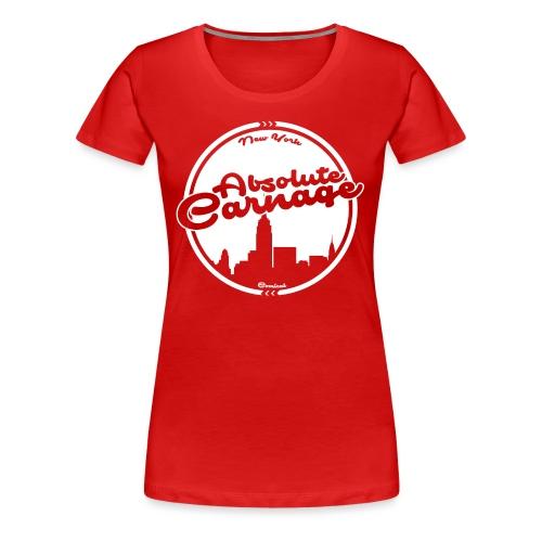 Absolute Carnage - White - Women's Premium T-Shirt
