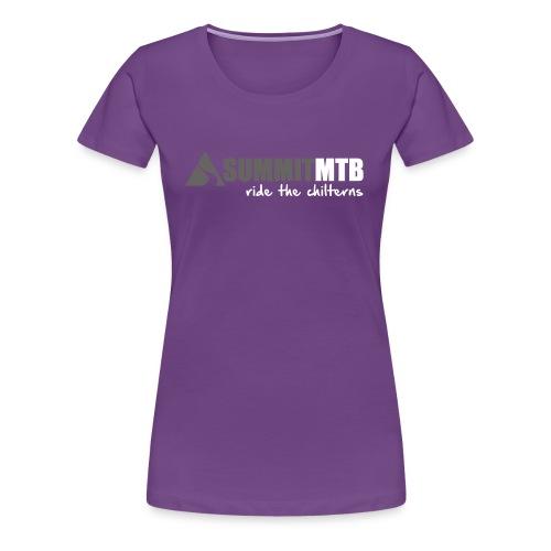 Summit Hoody Logo 2018 Mo - Women's Premium T-Shirt