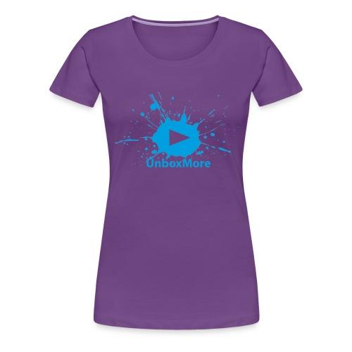 UnboxMore logo - Women's Premium T-Shirt