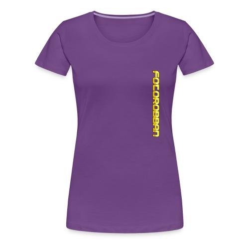 FOTOROBBAN - Premium-T-shirt dam