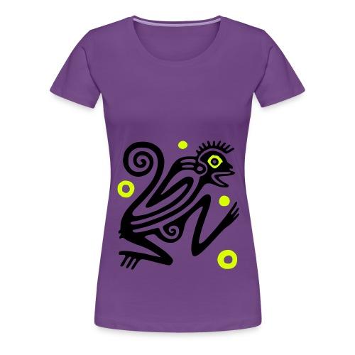 Ancient Mexican Glyph - Frauen Premium T-Shirt