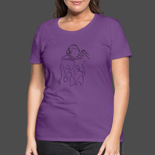 Foda FanArt - T-shirt Premium Femme