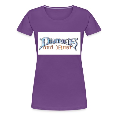 logo nurschrift - Frauen Premium T-Shirt
