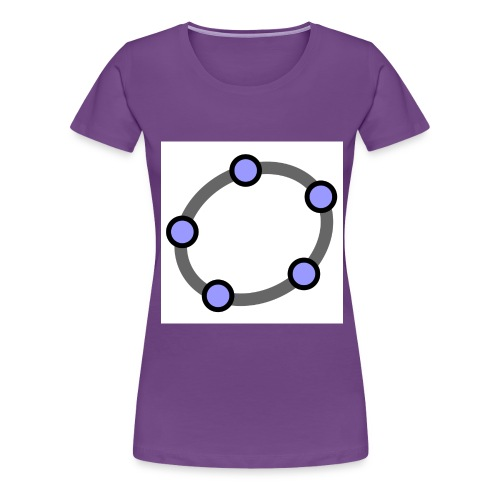 GeoGebra Ellipse - Women's Premium T-Shirt