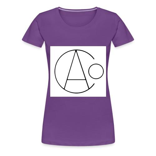 aoc bw thin - Women's Premium T-Shirt