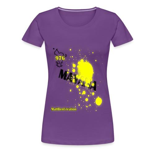 976 mayana - T-shirt Premium Femme