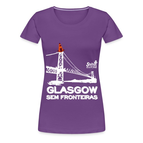 Glasgow Without Borders Brazil Santa Catarina - Women's Premium T-Shirt