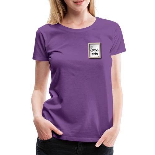 Send Nude Wink - T-shirt Premium Femme