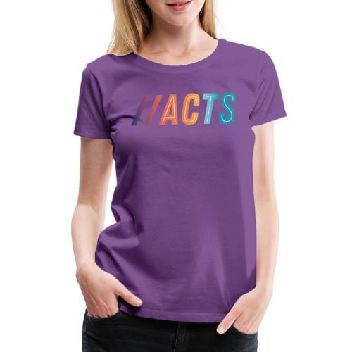 logo vêtement de Pictures by acts - T-shirt Premium Femme