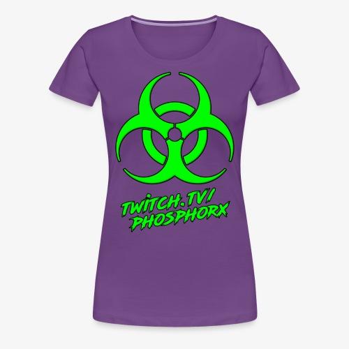twitch phosphorx vorne - Frauen Premium T-Shirt
