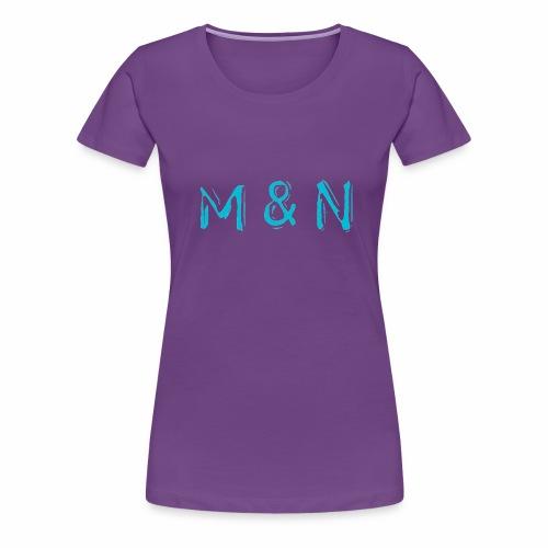 M&N - Premium T-skjorte for kvinner