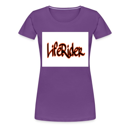 LifeRider - Frauen Premium T-Shirt