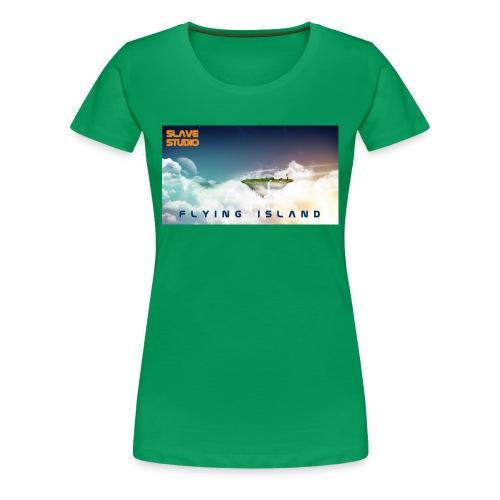 flying island - Maglietta Premium da donna