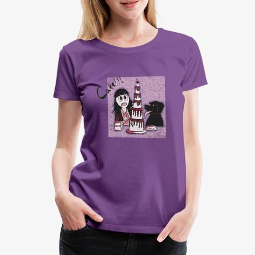 Cake!!! - Women's Premium T-Shirt