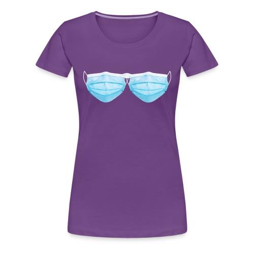Soutien gorges Covid-19 (Masque) - T-shirt Premium Femme