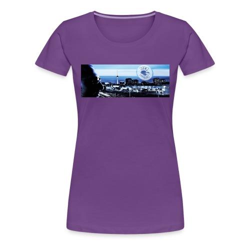Skyline / Logo Can T - Shirt - Frauen Premium T-Shirt