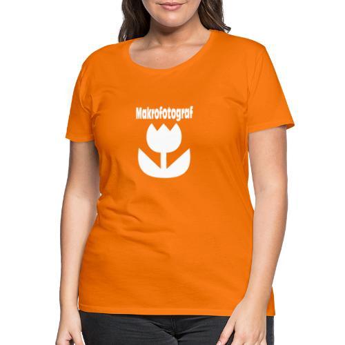 Icon Symbol Blume Makrofotografie Makrofotograf - Frauen Premium T-Shirt