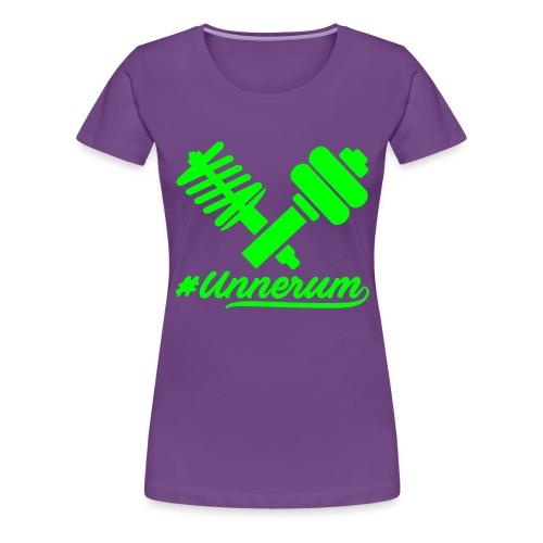 Logo #Unnerum - Frauen Premium T-Shirt