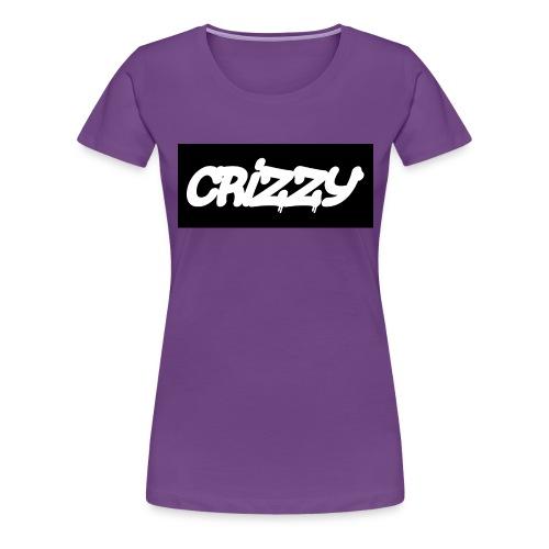 T-sjorte med logo v2 (jenter) - Premium T-skjorte for kvinner
