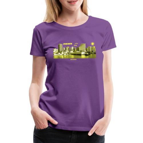 Honolulu Hawaii Summer City - Frauen Premium T-Shirt