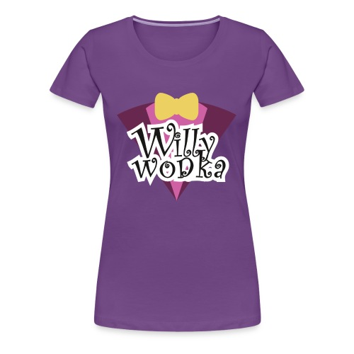 willy wodka - Frauen Premium T-Shirt