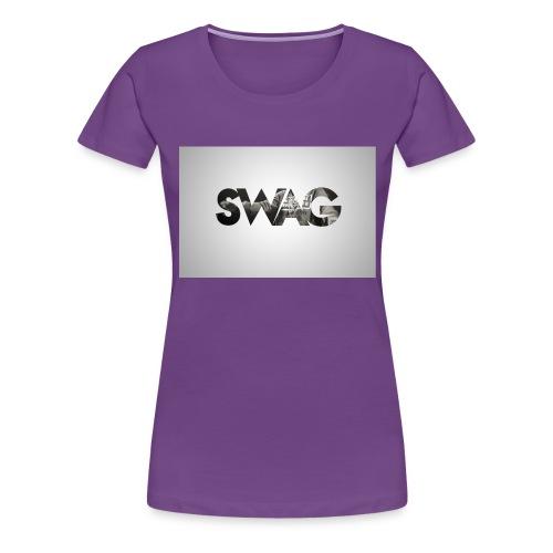 _SWAG CAMS - T-shirt Premium Femme