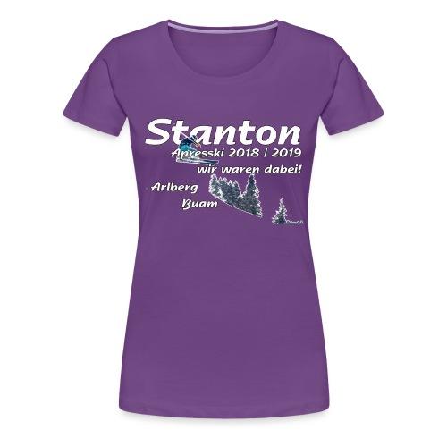 stanton apresski - Frauen Premium T-Shirt