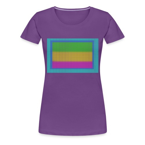 bandera estampa libre 1 - Camiseta premium mujer