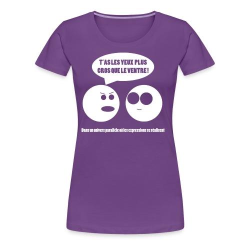tshirt3 png - T-shirt Premium Femme