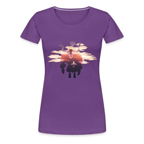 Ascent Spirit Yeti Only - T-shirt Premium Femme
